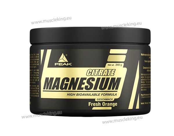 peak citrate magnesium
